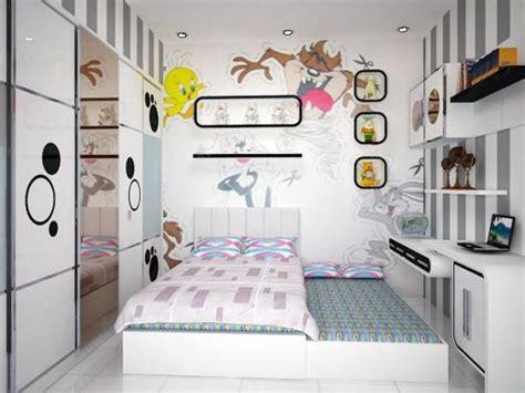 desain tembok kamar anak desain interior dan warna cat kamar tidur anak utama
