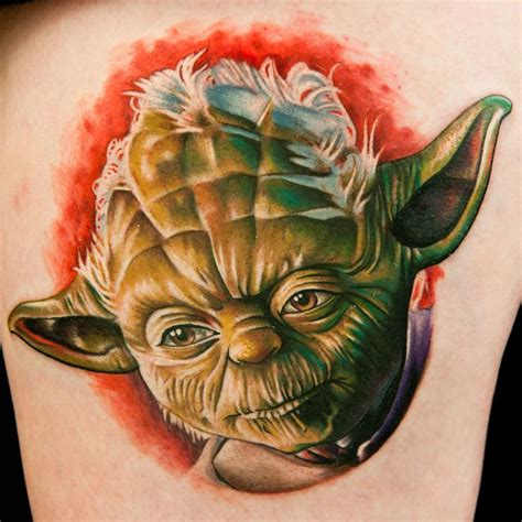 tatu tattoo yoda by tatu baby as seen on ink master i like the
