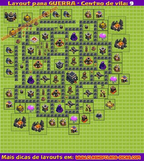 layout troll cv 9 layouts de guerra para cv9 clash of clans dicas gemas
