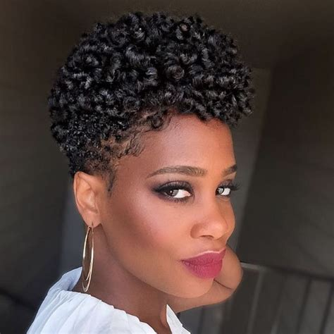 Tapered fro hairstyle ideas you can create yourself   Natural, Hair style and Short cuts