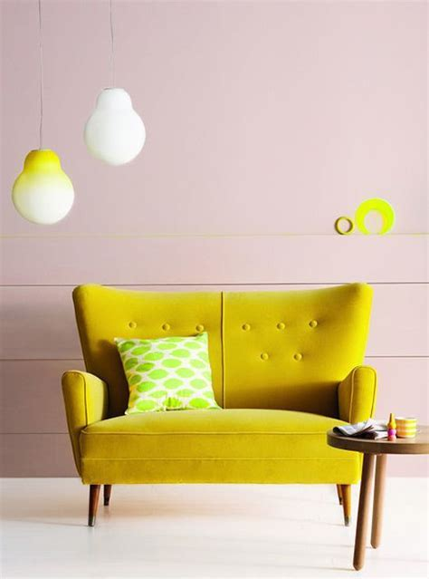yellow couch studio 25 best ideas about retro sofa on pinterest living room
