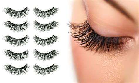 False Eyelash up to 44 on false eyelashes 10 pk