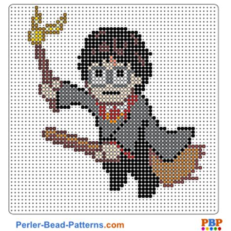 harry potter perler bead pattern and designs bead