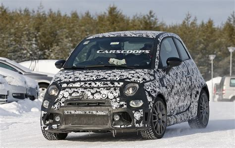 Abarth Upgrades New Abarth 500 Spotted Design Upgrades And More Power