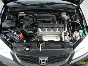 2004 Honda Civic Engine 2004 Honda Civic Lx Coupe 1 7l Sohc 16v Vtec 4 Cylinder
