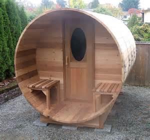 Backyard Sauna Kit by Cedar Barrel Sauna Kits And Wood Barrel Saunas Forest