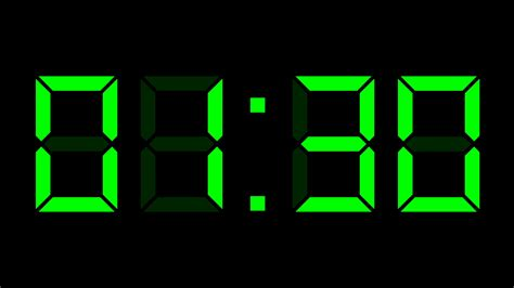 digital time lapse digital clock 24h time lapse motion background