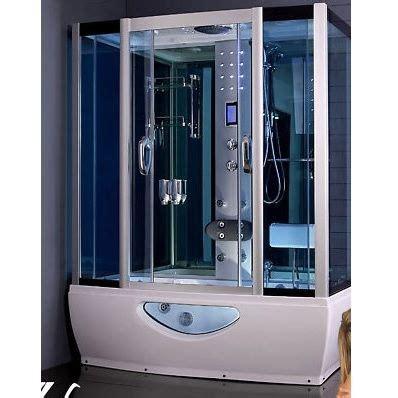 vasca bagno turco cabina e vasca idromassaggio 150x85cm con sauna bagno turco
