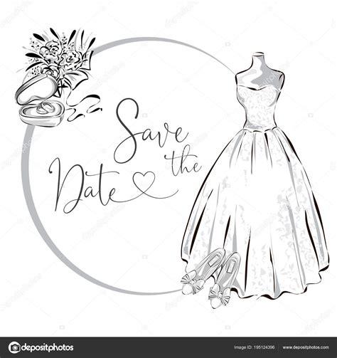 clipart bianco e nero matrimonio clipart insieme con abito da sposa fiori e