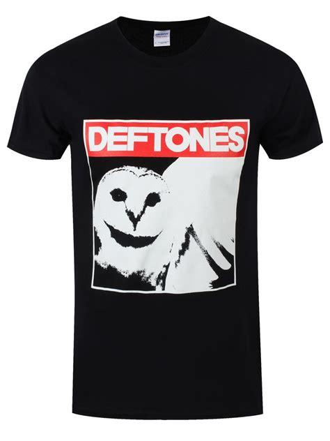 T Shirt Deftones Black Pafd deftones owl s black t shirt m 38 40 quot ebay