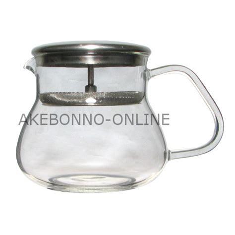 Aaa Glass Tea Coffee Pot Teko Kopi Saringan Teh 260ml coffee tea pot