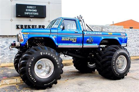 bigfoot the original truck 246 best bigfoot 4x4x4 fans images on bigfoot