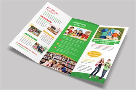 teacher brochure templates 9 free psd vector ai eps