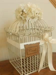 wedding card box birdcage wedding from yesmorefunk on etsy