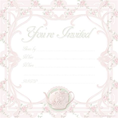 blank invitation templates free for word blank baby