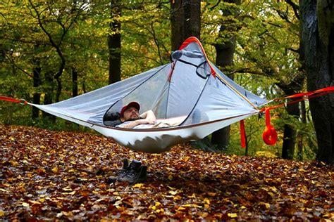 swinging tent tentsile flite combines comfort of swing bed with