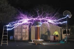 Design Your Own Home Western Australia Long Exposure Of A Tesla Coil Pics