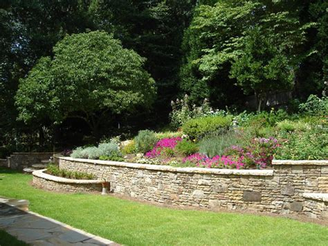 Ideas For Retaining Walls Garden Retaining Wall Ideas Quotes