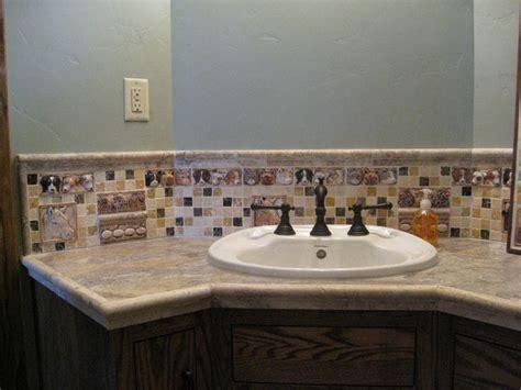 Tile Bathroom Sink - 17 best images about bathroom sink tops on
