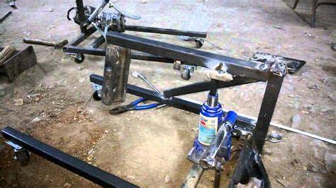 diy engineering projects hydraulic floor crane mechanical engineering project