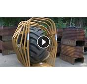 The Great Explosion With Biggest Single Piece Tire