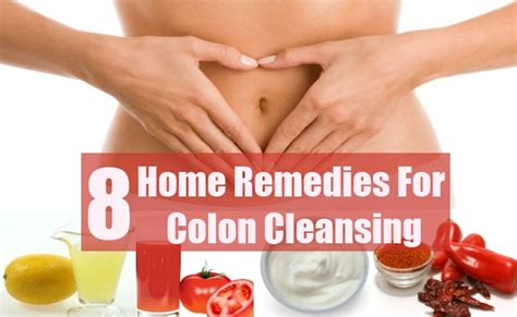Home Remedy Detox Cleanse by 8 Colon Cleansing Home Remedies Treatments And Cure Usa