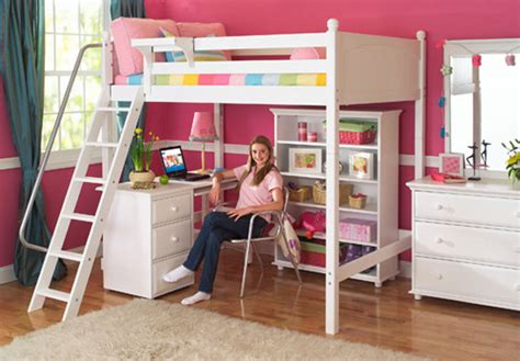 High Bunk Bed With Desk Underneath The Bedroom Source S Versatile Maxtrix Furniture For