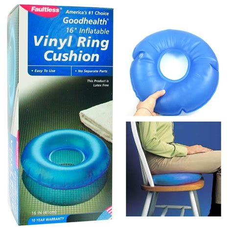 Hemorrhoid Pillows by Vinyl Ring Cushion Hemorrhoid Pillow