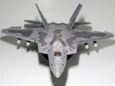 Origami F22 - ᓂf22 raptor invisible fighter edition