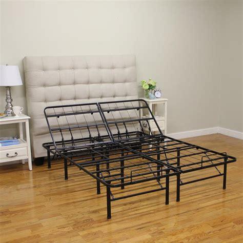 Metal Platform Bed Hercules Size 14 In H Adjustable Heavy Duty Metal Platform Bed Frame 127001 5050 The
