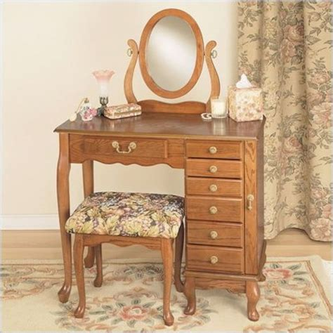 Oak Makeup Vanity Table Oak Makeup Vanity Show Home Design Oak Vanity Table Shelby