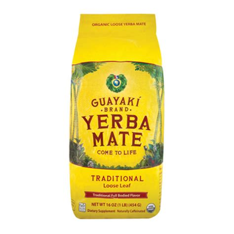 Garden Of Meal Yerba Mate Guayaki Organic Yerba Mate Traditional Of 6 16