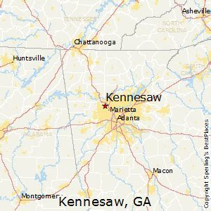 Kennesaw Zip Code Map by Best Places To Live In Kennesaw Georgia