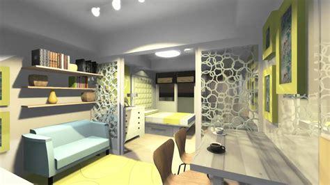 Standard Bedroom Size Philippines Azure Residences Unit Design Walkthrough Bulb