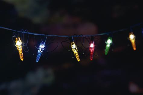 solar xmas lights kmart essential garden 20ct solar string light butterfly