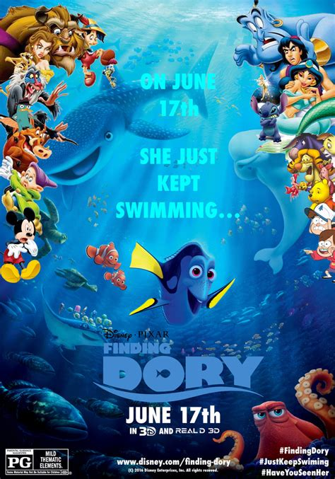 finding nemo poster finding dory poster fm by edogg8181804 on deviantart