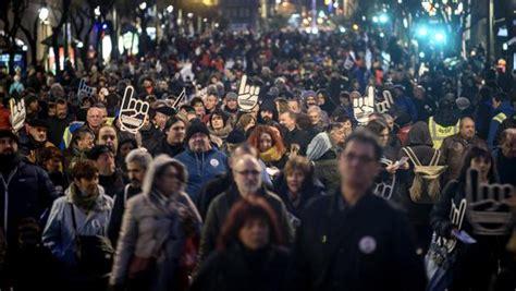 eta pais vasco de personas piden en bilbao el traslado al pa 237 s