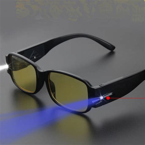 Glasses With Lights by