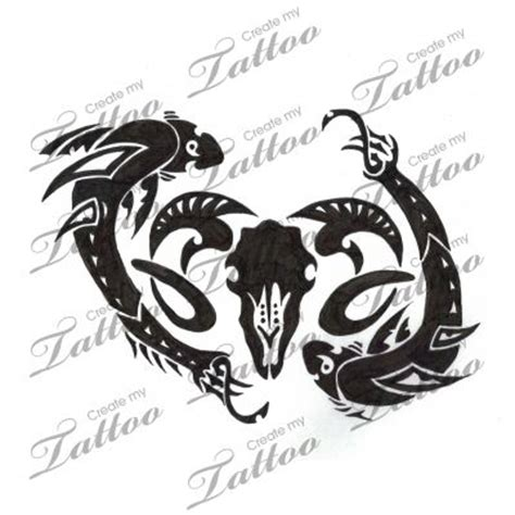 pisces aries cusp tattoo designs pisces ideas and the o jays on