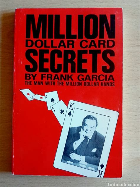 libro 15 million degrees a million dollar card secrets by frank garcia m comprar en todocoleccion 99867947