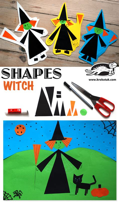 krokotak shapes witch