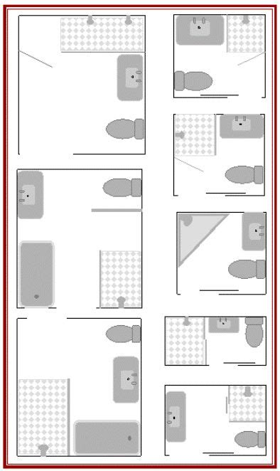 floor plans for bathrooms best 20 small bathroom layout ideas on tiny