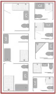 design a bathroom floor plan best 20 small bathroom layout ideas on pinterest tiny