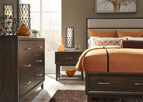 hudson bedroom set hudson square espresso panel storage bedroom set 365 br