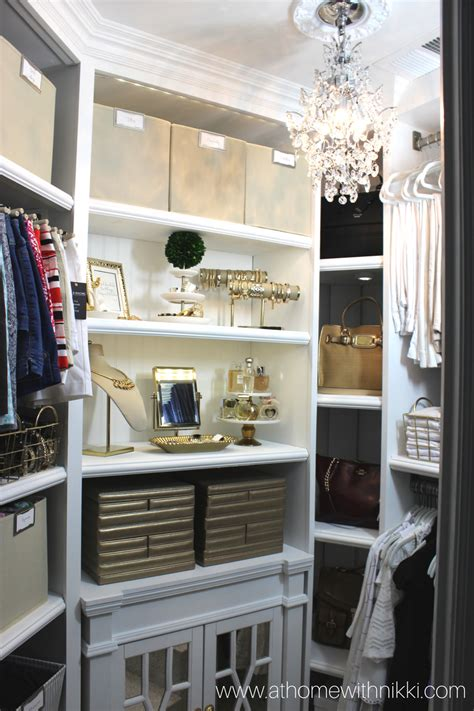 at home with master closet tour organization tips