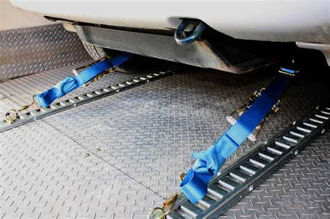 car trailer tie downs images
