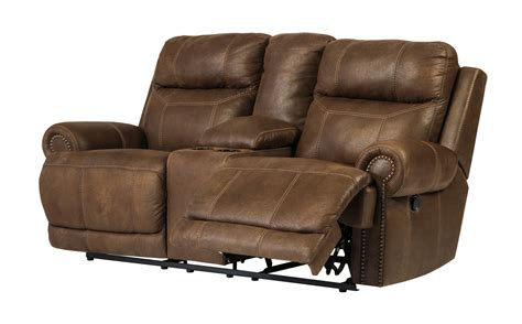 austere power reclining sofa austere double reclining loveseat w console power in
