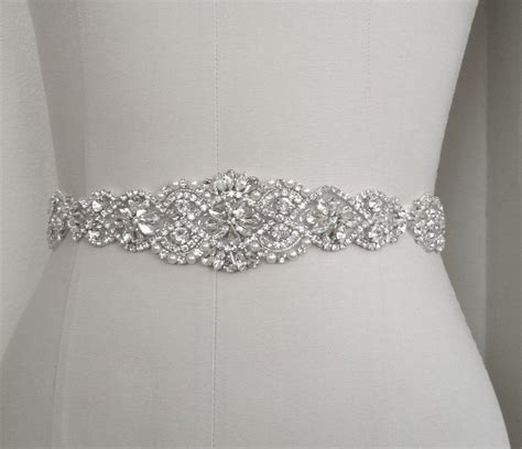 Wedding Dress Belts by Wedding Bridal Sash Belt Pearl Wedding Dress Sash