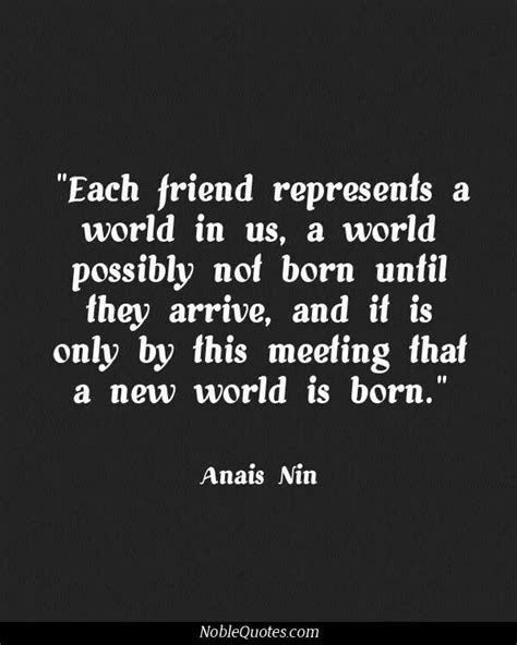 quotes about meeting new friends quotesgram