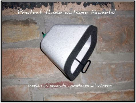 How To Cover Outside Faucets For Winter Outside Faucet Covers Image Search Results